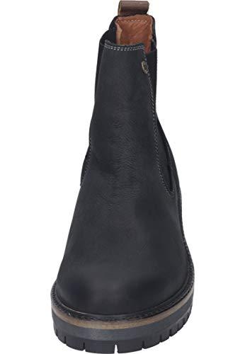 264 Chelsea Femme BLK1978 le Black 004 Boots 588 Noir dwanAT
