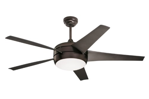 Emerson Ceiling Fans CF955ORB Midway Eco Modern Energy Star Ceiling Fans With Light And Remote, 54-Inch Blades, Oil Rubbed Bronze Finish by Emerson