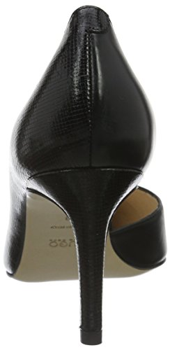 HUGO Bellie 10191387 01, Scarpe con Tacco Donna, Nero (Black 001), EU
