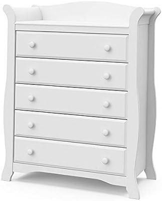 Amazon.com: Hebel Avalon 5 Drawer Dresser | Model DRSSR ...