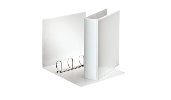 Amazon.com : Esselte Presentation Ring Binder Polypropylene ...
