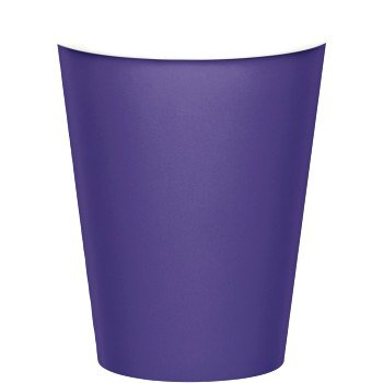 (9 Oz Paper Cups , 24 count (purple))