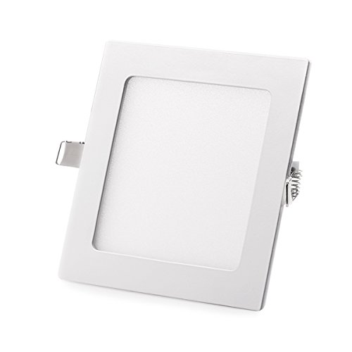ing Light, Ultra-Thin Non-Dimmable Square LED Recessed Light Fixture Downlight, 24W 6000K (Day White) 280MM Cut Hole for Home / Office / Commercial Lighting (Square Recessed Downlight)