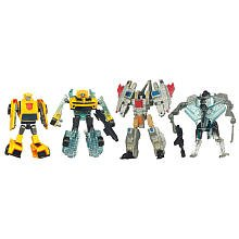 Transformers 3 Dark of the Moon Movie Exclusive Cyberverse Evolution Legion Class Action Figure 4Pack Bumblebee vs. (Bumblebee Transformer 4)