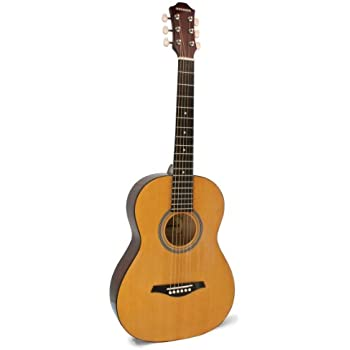 Amazon Com Hohner Hw03 3 4 Sized Steel String Acoustic Guitar