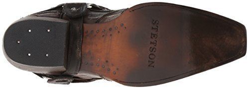 Stetson Mens Snip Toe Harness W / Bleach Boot Brown