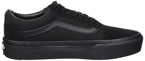 Platform Black WoMen Skool Old Vans Bka Black Black Trainers tHq4aSxw