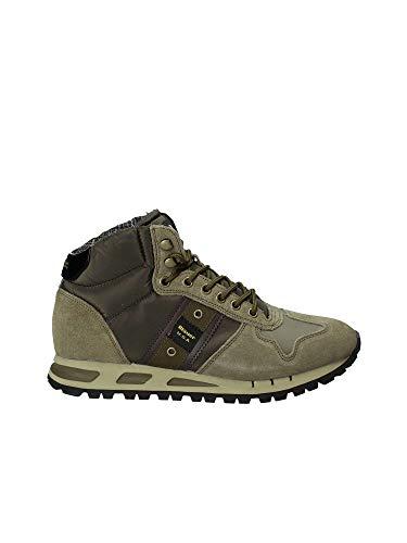 green Blauer Man 8fmustang02 Shoes Grün Sneakers tas xCHwzrYgCq
