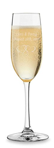 (Personalized Champagne Flute)
