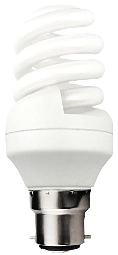 KOSNIC ECO15SP2/B22-827 LAMP CFL 15W B22 SPIRAL 2700K 8000H [Pack Size: 3] (Epitome Certified)