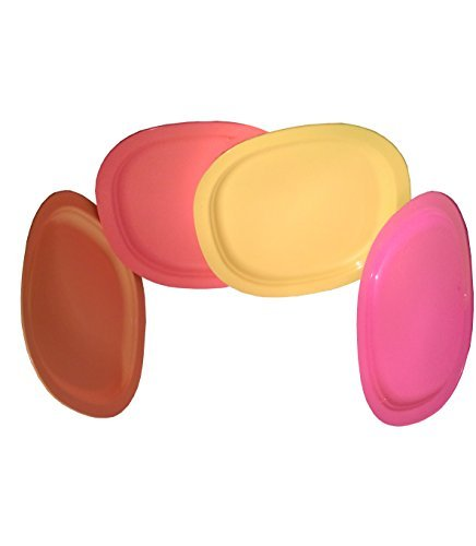 Tupperware Snack Plates (Set of 4)