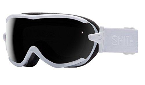 - Smith Optics Virtue Women's Spherical Series Ski Snowmobile Goggles Eyewear - White GBF/Blackout/Small