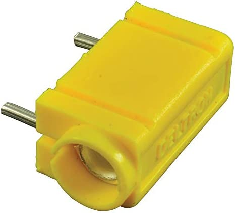 571 Series 571-0700 1.94 mm 571-0700 250 Vrms Test Jack Yellow Pack of 20 10 A