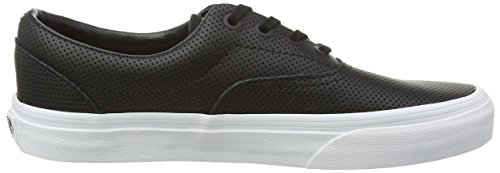 Vans Era - Zapatillas de skate unisex Black (Perf Leather - Black)