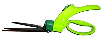 Gardenline 6 Inch Soft Touch Grass Shear with 360 Degrees