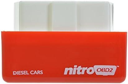 Alamor Nitro Diesel Red Economy Chip Tuning Box Kraftstoff Optimierung Ger/ät