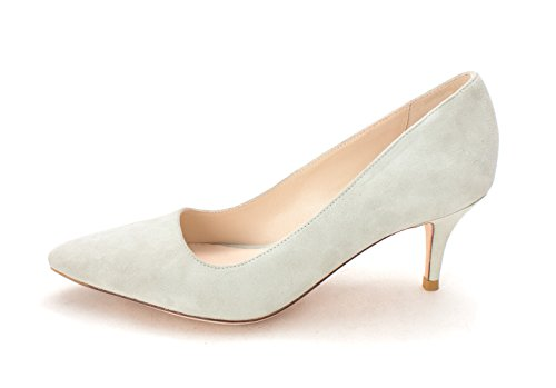 Cole Haan Womens Clarissasam Pointed Toe Classic Pumps Grey Jade vfvRWBj