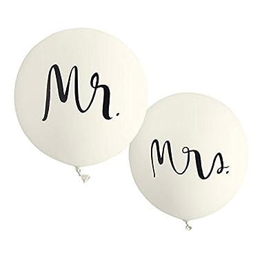 kate spade new york Bridal Balloons, Mr. & Mrs.