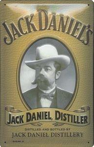 1258. Cartel Art Deco Jack Daniels Distiller: Amazon.es: Hogar