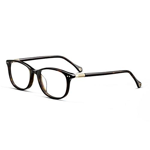 round optical glasses frame for men leopard