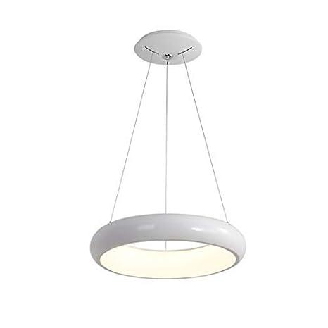 24W Moderno LED B roo Colgante Luz Minimalista Anillo redondo ...