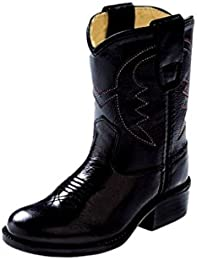 Youth Calfskin Cowboy Boot Pointed Toe