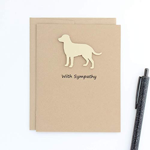 - Yellow Labrador Retriever Sympathy Card Dog Greeting Cards Dog Sympathy Card Yellow Lab Handmade Greeting Card British Lab
