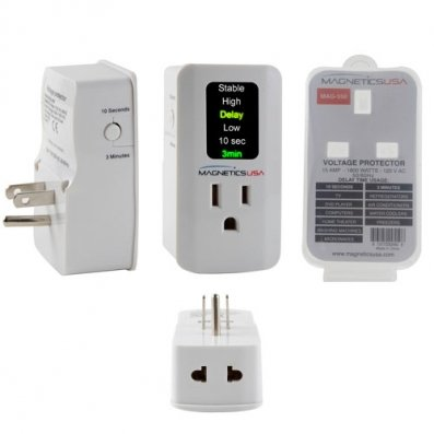 Voltage Surge Protector for LCD, LED, Plasma TV's, Home Theaters & DVD Players