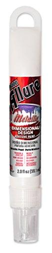 E6000 57081259 759H Allure Metallic Dimensional Adhesive Paint, 2 fl. oz, Mystic - Pearls Dimensional