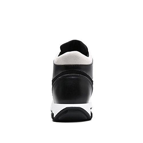 all'abrasione Color uomo Nero piatto amp;Baby EU trendy con tacco da Resistente uomo Sunny Dimensione Scarpe e da Nero alto 43 tacco x6B4aZ4Yq