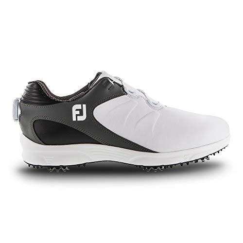 FootJoy Men's ARC XT Boa Golf Shoes, White, 10 M
