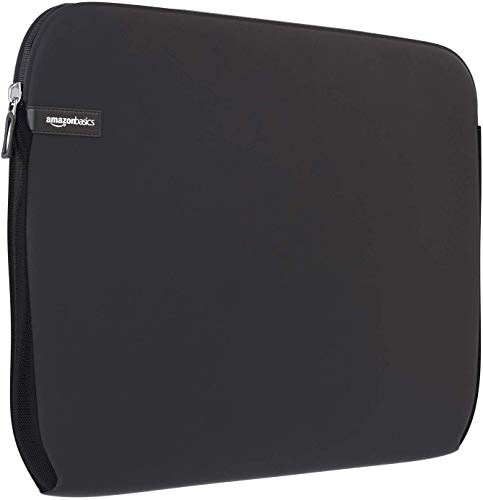 AmazonBasics 15-Inch to 15.6-Inch Laptop Sleeve - Black