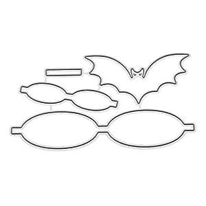 ZJL220 murciélagos Forma de Pajarita Forma de Corte de Metal ...
