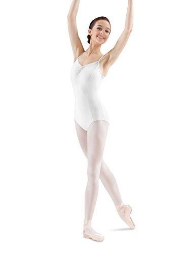 - Mirella Women's Princess Seam Pinch Front Camisole Dance Leotard