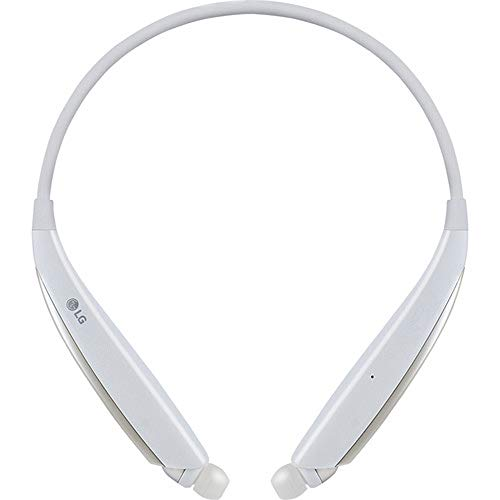 LG HBS-830 Tone Ultra Stereo Bluetooth Headset - White - Retail