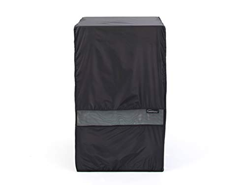 Covermates – Square Smoker Cover – 22W x 22D x 36H – Classic Collection – 2 YR Warranty – Year Around Protection - Black