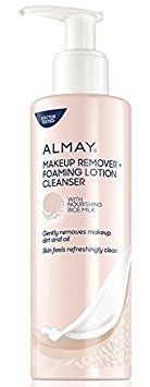 Almay Makeup Remover, Foaming Lotion Cleanser, 6.7 fl oz (Pack of 2)