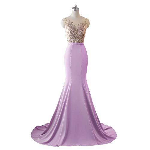 Lange Meerjungfrau Spitze Love Frauen Brautkleid Stickerei Formale Abendkleid 3 Pailletten King's qt47OWnW