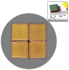 RY03 1000 pieces Mosaic-Minis 10x10x3mm Saffron