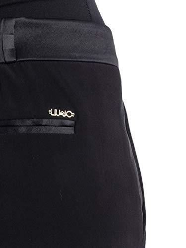 I67057 Black jo 46 In Pantalone Misto Viscosa Size Liu 4FXqUq