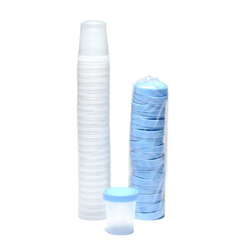 Specimen Cups With Lids 4 Oz 25/pkg ()