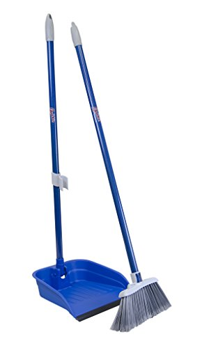 Quickie Stand and Store Stand & Store Lobby Broom and Dustpan Set (487), 1-Pack ()
