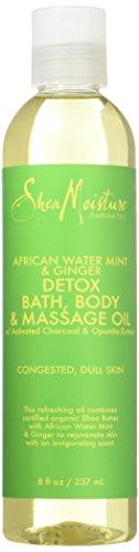 African Water Mint & Ginger Detox Bath-Body & Massage Oil by Shea Moisture...