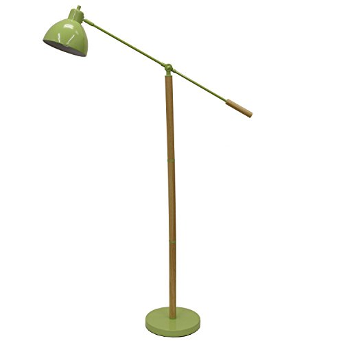 Décor Therapy Floor Lamp with Adjustable Arm