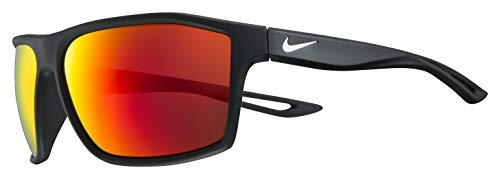 Nike Eyewear Men's Nike Legend EV1062-016 Rectangular Sunglasses, MATTE BLACK, 60 mm (Nike Training Glasses)