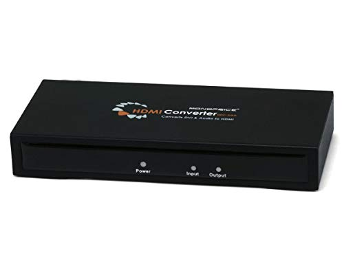 Monoprice DVI Video + Digital Coaxial and Digital Optical Audio to HDMI - Cable Dvi Optical