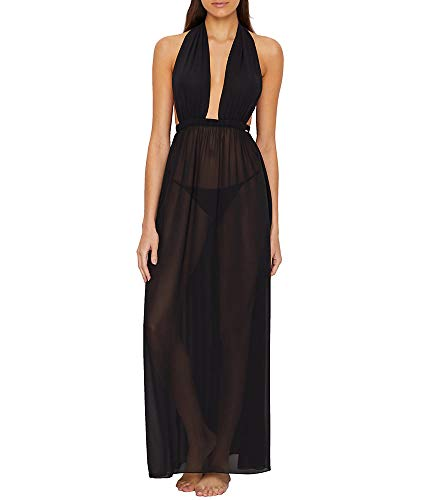 Bluebella Luella Sheer Gown, XS, Black