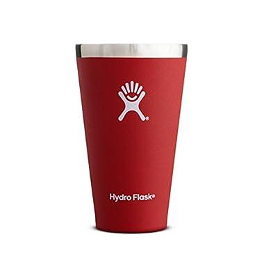 Hydro Flask Vacuum Insulated True Pint, 16-Ounce -  Lava