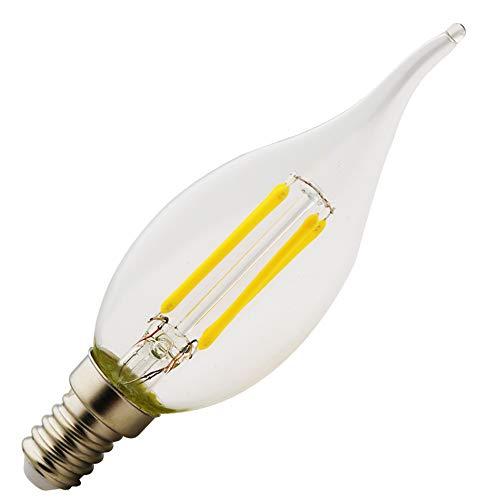 E14, nieuwe LED, Edison Screw Candle gloeilampen, (2W, 4W, 6w), AC 220-240V, kaars gloeilamp achterlicht, 2700K warm wit…