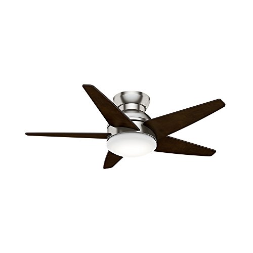"""Casablanca 59351 44"""" Isotope Ceiling Fan with Light with Wal"""